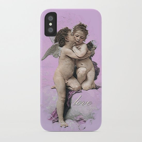 First Kiss Pink iPhone Case