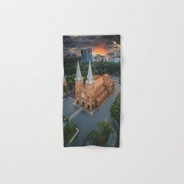 Notre-Dame Cathedral Basilica of Saigon Hand & Bath Towel