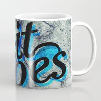 vonnegut Mugs featuring So It Goes by Kelly Irene