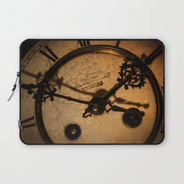 The Clock The Time  Laptop Sleeve