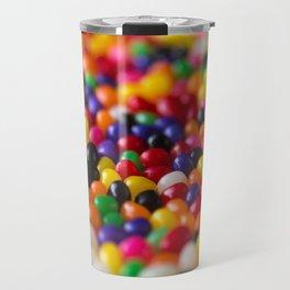 Rainbow Jelly Beans Candy Travel Mug