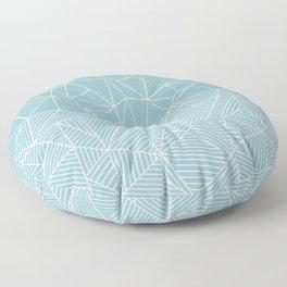 Ab Half and Half Salt Floor Pillow
