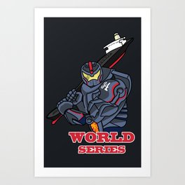 THE world series Art Print