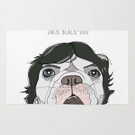 Celebrity Dog - Jack Black-Dog Rug