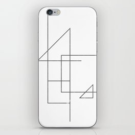 wireframe #001 iPhone Skin