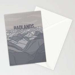 Badlands Stationery Cards