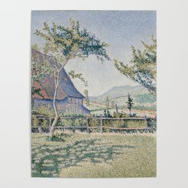 Comblat-le-Château, the Meadow Poster