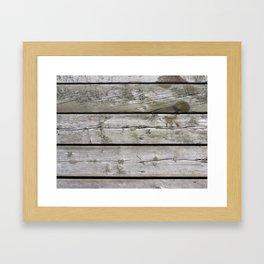 Good ol' Wood Framed Art Print