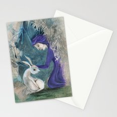 Witch and Hare Stationery Cards