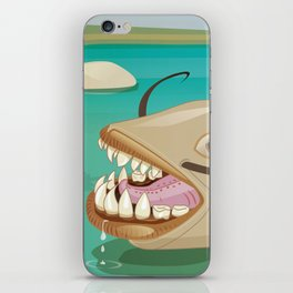 Looking for food iPhone Skin