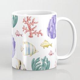 Beautiful Sea Animal Pattern Coffee Mug