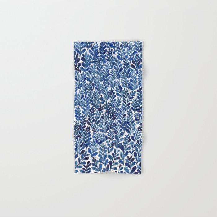 Indigo blues Hand & Bath Towel