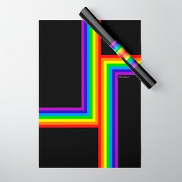 Modern Rainbow Wrapping Paper