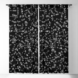 Equation Overload Blackout Curtain