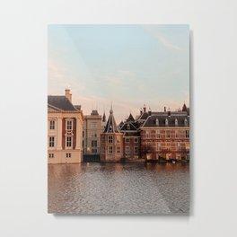 The Hague golden hour | Fine Art Travel Photography | Cityscape Buildings Architecture Art Print Metal Print