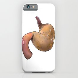 Stomach iPhone Case