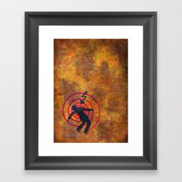 Heartshock Framed Art Print