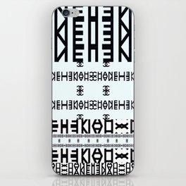 High Fashion Pattern iPhone Skin
