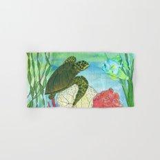 Sea Turtle Shores Hand & Bath Towel