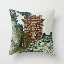 St Stephens Tower Throw Pillow
