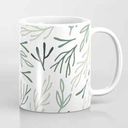 Bright Forest Leaves Coffee Mug