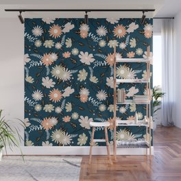 Marseille - Floral Pattern Wall Mural