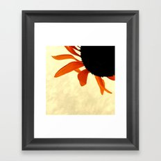 FLOWER 041 Framed Art Print
