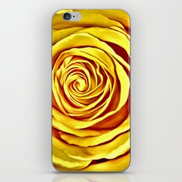 The Yellow Rose of Texas iPhone Skin
