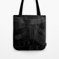 trooper Tote Bags featuring Trooper by halx
