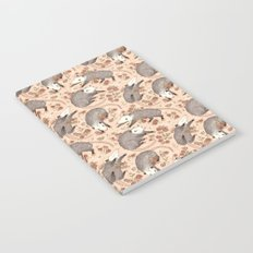 Opossum and Roses Notebook