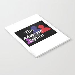 """""""The Adoption Option"""" TV Show Logo Notebook"""
