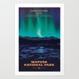 Wapusk National Park Poster Art Print