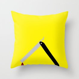 Mr. Blonde  Throw Pillow