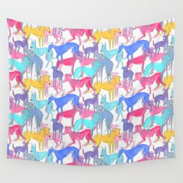 greyhound Wall Tapestry