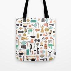 Kitchen Kitsch Tote Bag