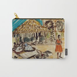 Uganda Homestead, East Africa 1960 Carry-All Pouch