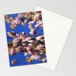Abstract magnolia Stationery Cards