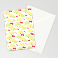 summer fruit cocktail Stationery Cards