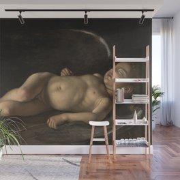 Merisi da Caravaggio - Sleeping Cupid Wall Mural