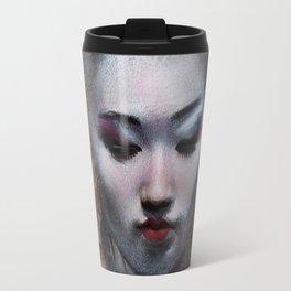 The ikebana woman Travel Mug