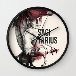 Zodiac serie: Sagittarius Wall Clock
