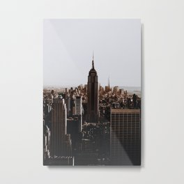 Rockefeller Center / New York City Metal Print
