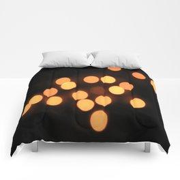 Blurred Lights Comforters