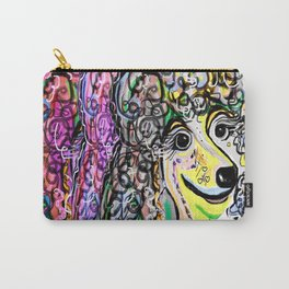 Poodle Color Transition Carry-All Pouch