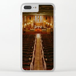 Old Warm Church Clear iPhone Case