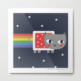 #30daysofcats 22/30 Metal Print