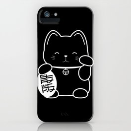 Stay Lucky BLK iPhone Case