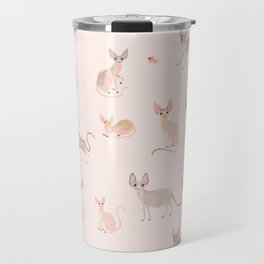 Sphynx Cats Travel Mug