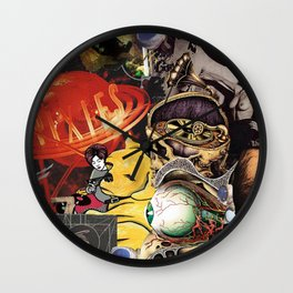 Then The Devil Is 6 Wall Clock