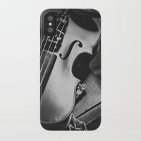 violin iPhone & iPod Cases featuring Violin by Jo Bekah Photography